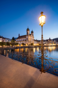 Picture no: 12096793 Rathaussteg und Jesuitenkirche in Luzern Created by: eyetronic