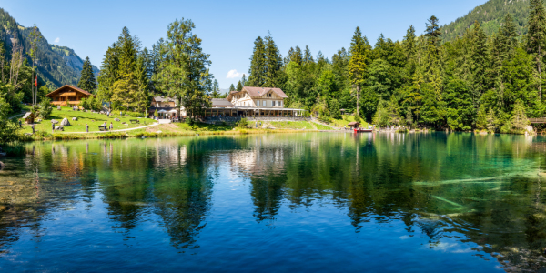 Picture no: 12097103 Blausee Panorama Created by: eyetronic