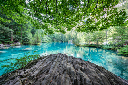 Picture no: 12097106 Blausee in der Schweiz Created by: eyetronic