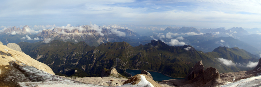 Picture no: 12103621 Marmolada Panorama Created by: Gerhard Albicker