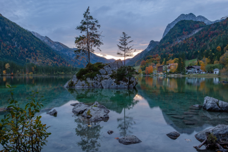 Picture no: 12112404 Abend am Hintersee Created by: ELIO