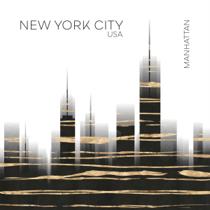Picture no: 12115197 Urban Art NYC Skyline Created by: Melanie Viola