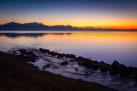 Picture no: 12148767 Abend am Chiemsee Created by: Martin Wasilewski