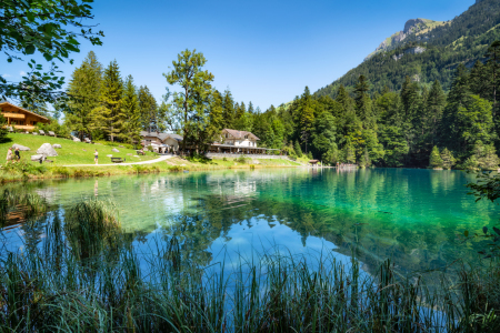 Picture no: 12168752 Blausee in der Schweiz Created by: eyetronic