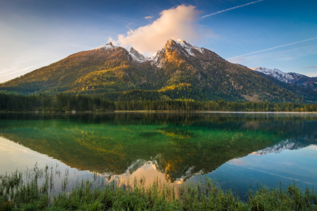 Picture no: 12176308 Sonnenaufgang am Hintersee Created by: Martin Wasilewski