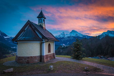 Picture no: 12177337 Abend in Berchtesgaden Created by: Martin Wasilewski