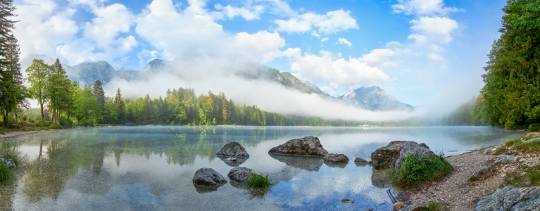 Picture no: 12218321 Langbathsee im Morgenzauber Created by: photoplace