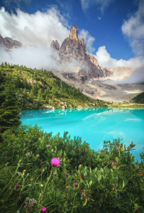 Picture no: 12245634 Lago di Sorapis in den Dolomiten   Created by: Jean Claude Castor