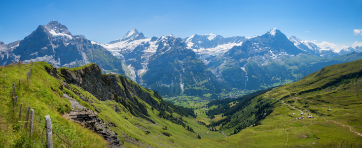 Picture no: 12267445 Schweizer Alpenpanorama Grindelwald First Created by: SusaZoom