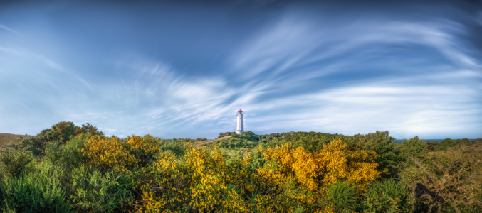 Picture no: 12291235 Hiddensee Panorama mit Leuchtturm Created by: FotoPictures