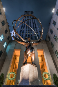 Picture no: 12324834 Atlas Statue am Rockefeller Center in New York Created by: eyetronic