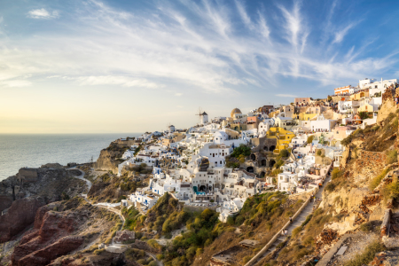 Picture no: 12334293 Oia auf Santorini Created by: eyetronic