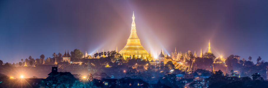 Picture no: 12351339 Shwedagon Pagode bei Nacht Created by: eyetronic