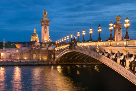 Picture no: 12353859 Pont Alexandre III in Paris Created by: eyetronic