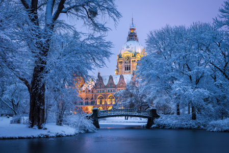 Picture no: 12370652 Winter in Hannover Created by: Mapics