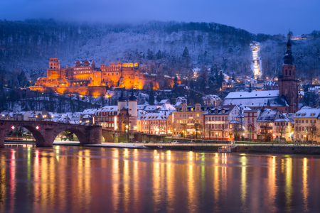 Picture no: 12404406 Heidelberg im Winter Created by: eyetronic