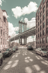 Picture no: 12409742 NYC Manhattan Bridge - urbaner Vintage-Stil Created by: Melanie Viola