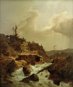 Picture no: 30000006 A.Achenbach, Norwegische Landschaft Created by: Achenbach, Andreas