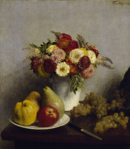 Picture no: 30000078 Fantin-Latour / Flowers and fruits/ 1865 Created by: Fantin-Latour, Henri