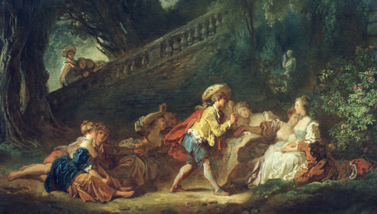 Picture no: 30000206 J.H.Fragonard, Game in the Park Created by: Fragonard, Jean-Honoré