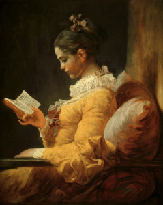 Picture no: 30000212 Jean-Honore Fragonard / Reading Girl Created by: Fragonard, Jean-Honoré