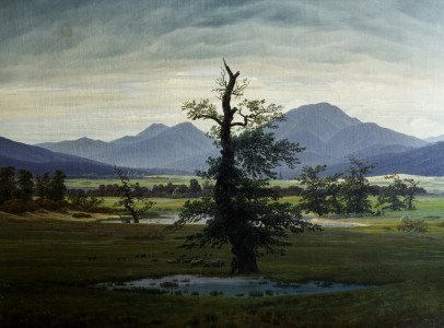 Picture no: 30000264 Friedrich / The Lonesome Tree / 1822 Created by: Friedrich, Caspar David