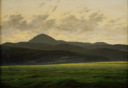 Picture no: 30000272 C.D.Friedrich, Berglandschaft in Böhmen Created by: Friedrich, Caspar David