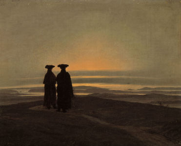 Picture no: 30000274 C.D.Friedrich / Evening Landscape Created by: Friedrich, Caspar David