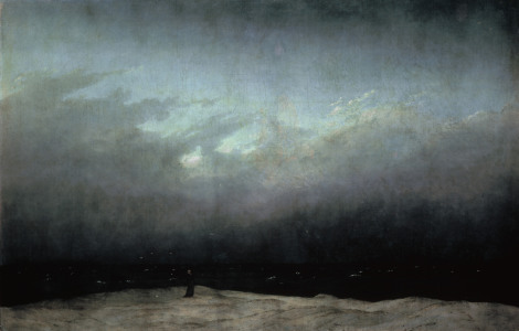 Picture no: 30000282 C.D.Friedrich / Monk by the Sea / 1808 Created by: Friedrich, Caspar David
