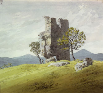 Picture no: 30000294 Friedrich / Tower ruin / c.1828 Created by: Friedrich, Caspar David