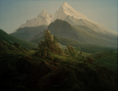 Picture no: 30000296 C.D.Friedrich, Der Watzmann Created by: Friedrich, Caspar David