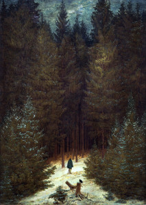 Picture no: 30000306 Friedrich / Hunter in the forest / 1814 Created by: Friedrich, Caspar David