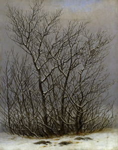 Picture no: 30000312 Friedrich / Bushes in snow / c.1827 Created by: Friedrich, Caspar David