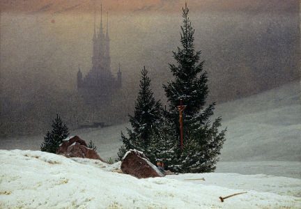 Picture no: 30000324 Friedrich / Winter landscape / 1811 Created by: Friedrich, Caspar David