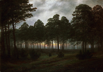Picture no: 30000334 Friedrich / Evening / c.1820 Created by: Friedrich, Caspar David