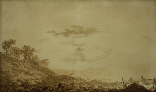 Picture no: 30000372 C.D.Friedrich, Arkona bei Mondlicht Created by: Friedrich, Caspar David