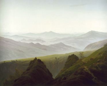 Picture no: 30000410 Friedrich /Morning i.th.Mountains/ 1822 Created by: Friedrich, Caspar David