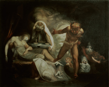 Picture no: 30000496 Fuseli / Belinda's Dream / c. 1780/90 Created by: Füssli, Johann Heinrich d.J.