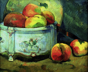 Picture no: 30000524 Gauguin /Still-life with peaches /c.1889 Created by: Gauguin, Paul