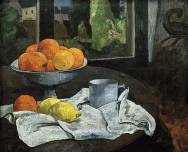 Picture no: 30000530 Gauguin/Oranges et citrons avec vue/1890 Created by: Gauguin, Paul