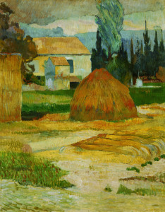 Picture no: 30000548 P.Gauguin, Bauernhaus in Arles Created by: Gauguin, Paul