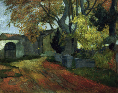 Picture no: 30000580 P.Gauguin, Les Alyscamps Created by: Gauguin, Paul