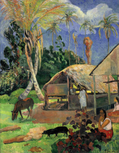 Picture no: 30000592 Paul Gauguin / The Balck Pigs / 1891 Created by: Gauguin, Paul