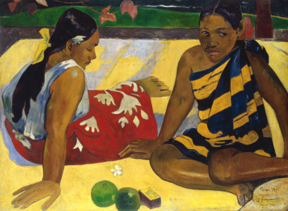 Picture no: 30000606 P. Gauguin / Two Tahiti Women / 1892 Created by: Gauguin, Paul