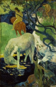 Picture no: 30000630 Gauguin / The white horse / 1893 Created by: Gauguin, Paul