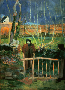 Picture no: 30000632 Gauguin, Bonjour M. Gauguin Created by: Gauguin, Paul