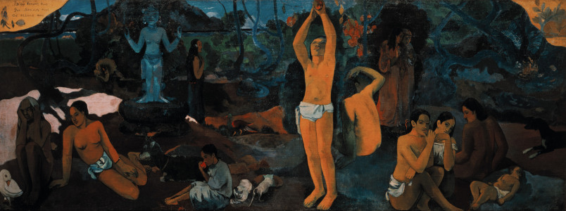 Picture no: 30000634 Gauguin / Who are we? / 1897 Created by: Gauguin, Paul