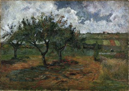 Picture no: 30000644 Gauguin, Blossoming Apple Trees / 1878 Created by: Gauguin, Paul