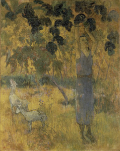 Picture no: 30000658 P.Gauguin / Man Picking Fruit / 1897 Created by: Gauguin, Paul