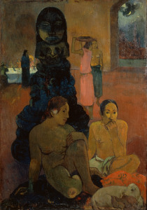 Picture no: 30000660 P.Gauguin / The Great Buddha / 1899 Created by: Gauguin, Paul